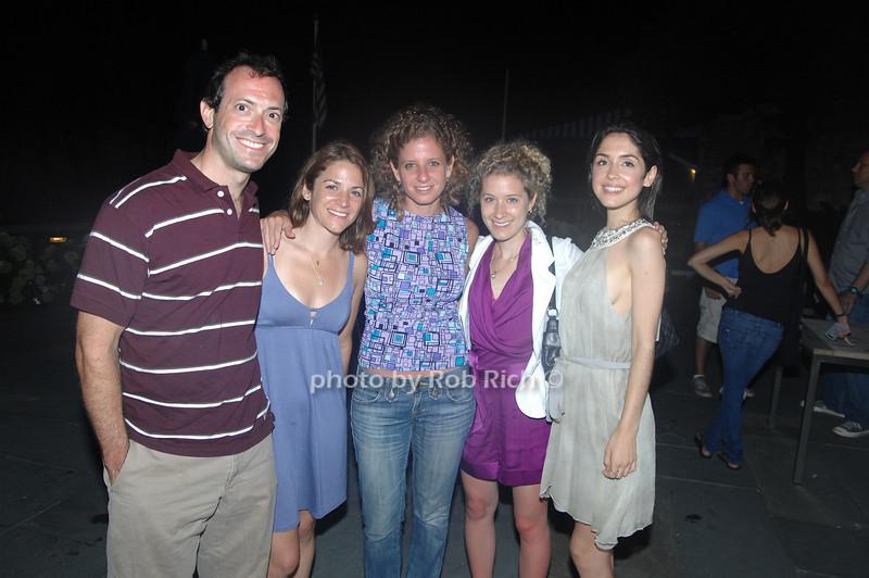 Jason Siegal, Julie Cassetta, Laura Boucai, Katia Menegon and Kristen Blane