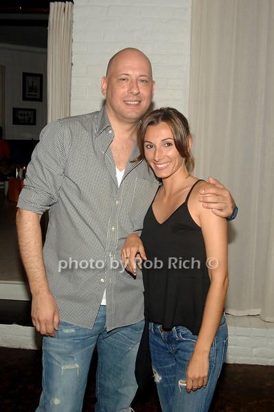 Steve Kasuba and Andriena Bonura