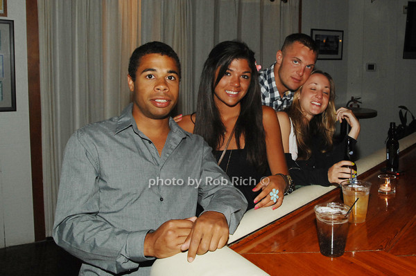 Ian Oz and Ashley Dauro and friends