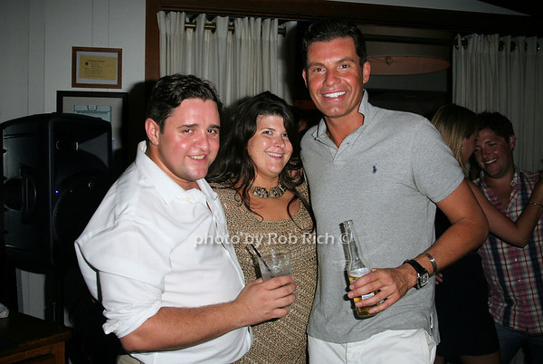 Gy Getwick, Stephani Panagot, Dan Jenkins <br /> photo by Jakes for Rob Rich© 2010 robwayne1@aol.com 516-676-3939