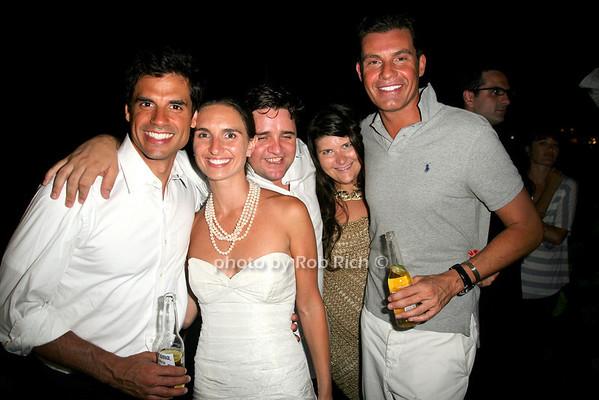 Steven Krlytak, Dana Krlytak, Gy Getwick, Stephani Panagot, Dan Jenkins <br /> photo by Jakes for Rob Rich© 2010 robwayne1@aol.com 516-676-3939