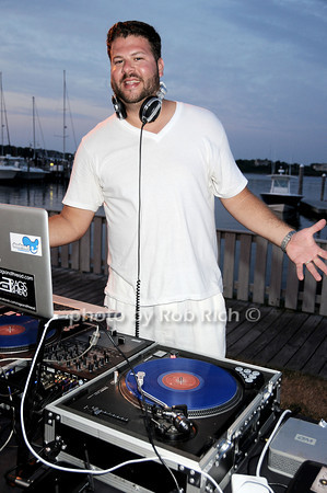 DJ Chris Bachmann<br /> photo by Rob Rich © 2010 robwayne1@aol.com 516-676-3939