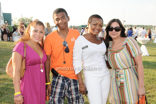 Madaline Torres, Jalen Wilder, Robin Kearse, Kim Meyers photo by Rob Rich © 2010 robwayne1@aol.com 516-676-3939