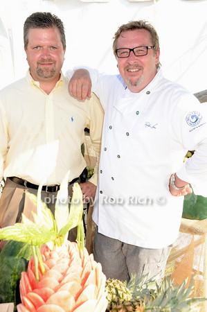 Loyd Van Horn , Chef Robbin Haaz<br /> photo by Rob Rich © 2010 robwayne1@aol.com 516-676-3939