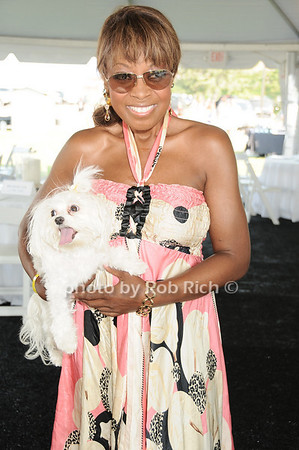 Star Jones<br /> and Pinky<br /> photo by Rob Rich © 2010 robwayne1@aol.com 516-676-3939
