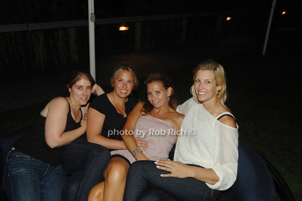 Doreen Anderson, Mary Kate Gardnier, Krista Milberg and Sandi Farkas