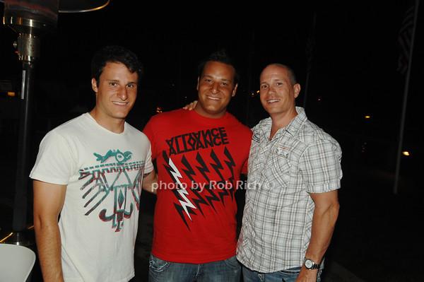 Brad Pollina, Jamie Pollina and Jordan Harris