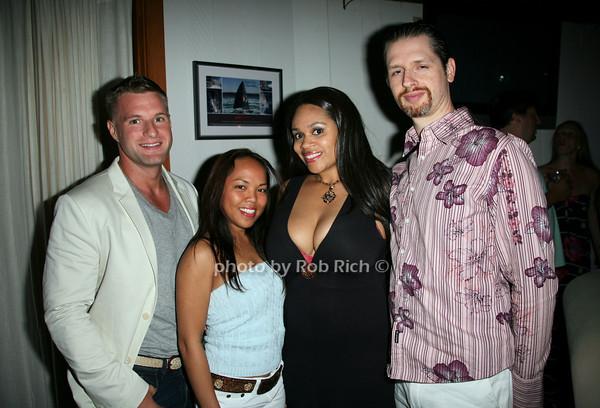 Chris Dunn, Mae Vaigaz, Angelique Monet, PJ Galati<br /> photo by Jakes for Rob Rich  © 2010 robwayne1@aol.com 516-676-3939