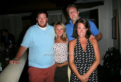 Sean McCabe, Kaitlin Scharp, John Kennedy, Monica McCabe photo by Jakes for Rob Rich  © 2010 robwayne1@aol.com 516-676-3939