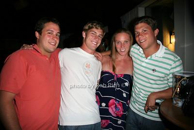 Ben Stein, Jamie Melvin, Tracey Melvin, Josh Goldsmith photo by Jakes for Rob Rich  © 2010 robwayne1@aol.com 516-676-3939