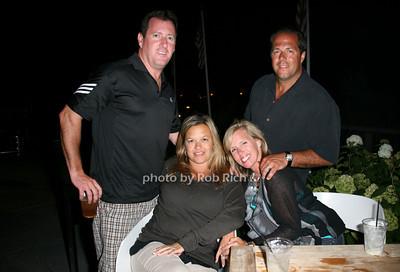 Ken Kelliher, Kathy Kelliher, Jacquie Balducci, John Balducci photo by Jakes for Rob Rich  © 2010 robwayne1@aol.com 516-676-3939