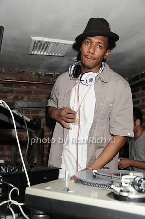 "Nick Cannon, of ""America's Got Talent"", takes time from his busy schedule to guest DJ at Bamboo in Easthampton on July 3, 2010. photo by Rob Rich/SocietyAllure.com<br /> photo by Rob Rich © 2010 robwayne1@aol.com 516-676-3939"