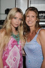 Designer Emily Jerome, Chiara Trento<br /> at the Blue and Cream store in East Hampton on 6-12-10.
