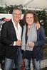 Vittorio Assante, Fabio Granato, owner of Serafina<br /> at the Grand Opening of Serafina Restaurant in Easthampton on 6-12-10.