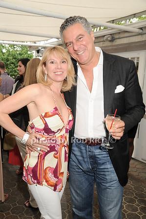 Ramona Singer, Vittorio Assante<br /> at the Grand Opening of Serafina Restaurant in Easthampton on 6-12-10.