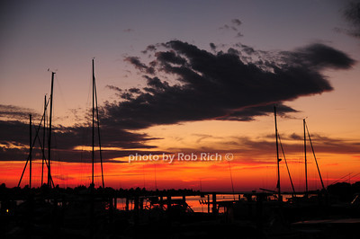 Sunset at the Boathouse in East Hampton 7-4-10.photo by Rob Rich © 2010 robwayne1@aol.com 516-676-3939