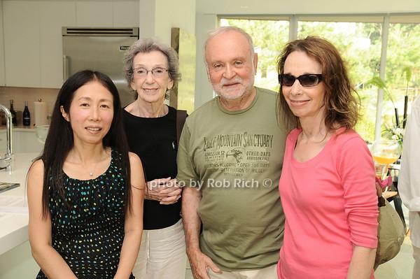 Yoshiko Sato, Betty Yoelson, Alan Drezin, Martha Drezin<br /> photo by Rob Rich © 2010 robwayne1@aol.com 516-676-3939