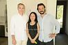 Michael Morris , Yoshiko Sato, Artist Antonio Murado<br /> photo by Rob Rich © 2010 robwayne1@aol.com 516-676-3939