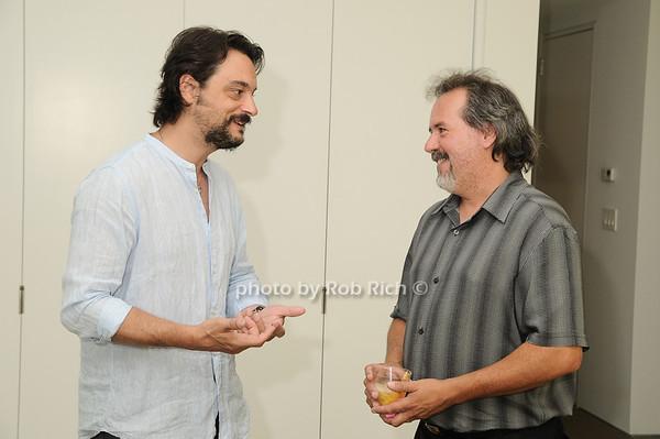 Antonio Murado, Chuck Ruse<br /> photo by Rob Rich © 2010 robwayne1@aol.com 516-676-3939
