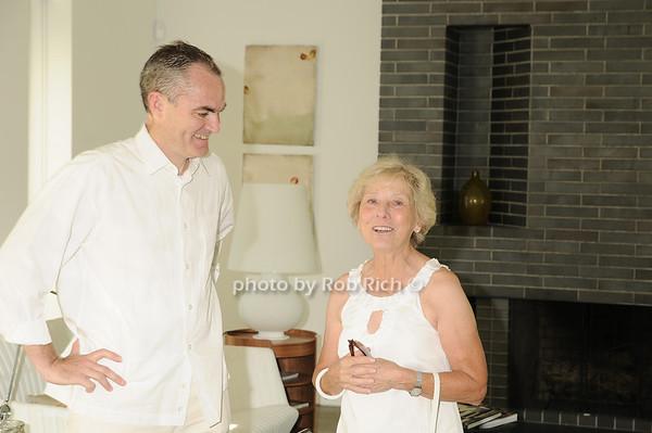 Michael Morris, Barbara Olton<br /> photo by Rob Rich © 2010 robwayne1@aol.com 516-676-3939