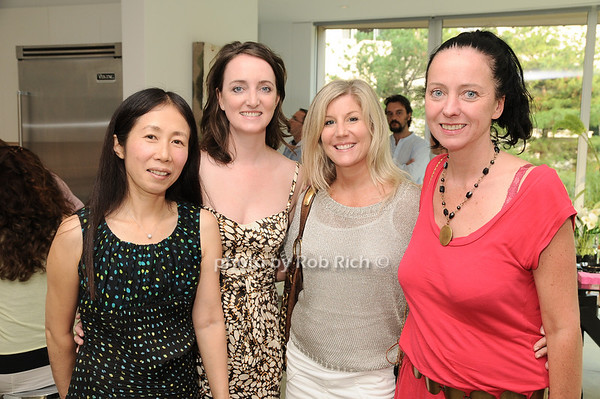 Yoshiko Sato,Jackie Meere, Christina Vann, Maz Crotty<br /> photo by Rob Rich © 2010 robwayne1@aol.com 516-676-3939
