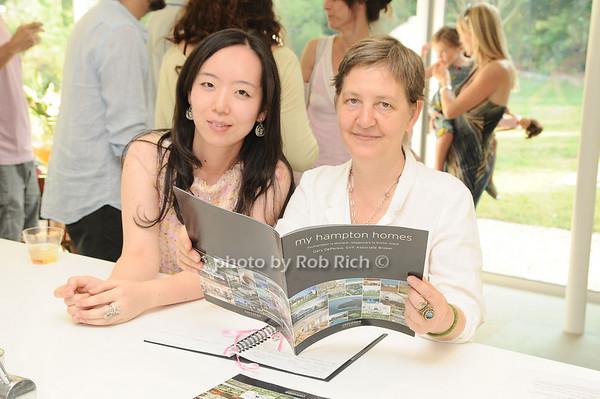 Ji Young Kim, Natalie Fizer<br /> photo by Rob Rich © 2010 robwayne1@aol.com 516-676-3939