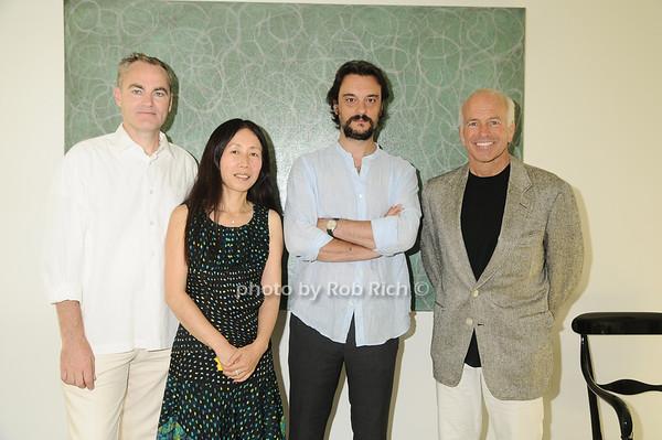 Michael Morris,  Yoshiko Sato ,Artist Antonio Murado, Gary DePersia<br /> photo by Rob Rich © 2010 robwayne1@aol.com 516-676-3939
