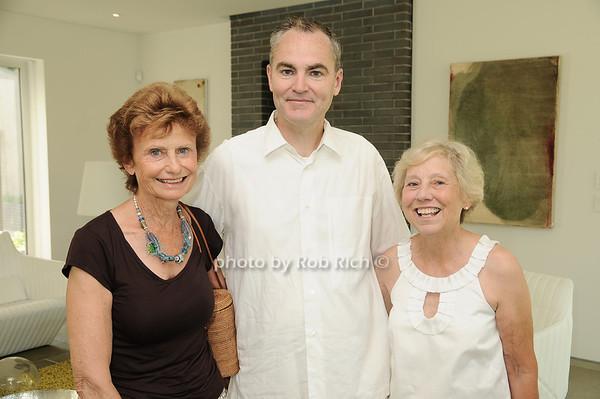Elizabeth Pedersen, Michael Morris, Barbara Olton<br /> photo by Rob Rich © 2010 robwayne1@aol.com 516-676-3939