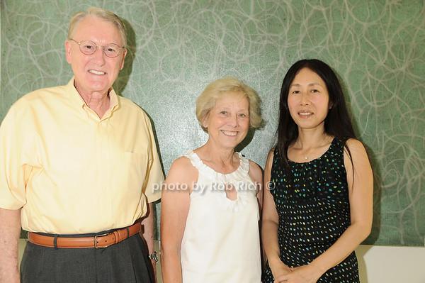 Chuck Olton, Barbara Olton, Yoshiko Sato<br /> photo by Rob Rich © 2010 robwayne1@aol.com 516-676-3939