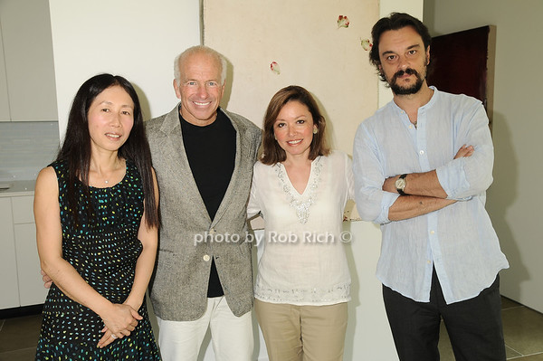 Yoshiko Sato , Gary DePersia, Penelope Moore, Artist Antonio Murado<br /> photo by Rob Rich © 2010 robwayne1@aol.com 516-676-3939