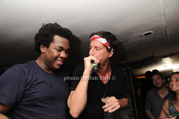 "DJ Reach, Simon Rex , aka ""Dirty Nasty""<br /> photo by Rob Rich © 2010 robwayne1@aol.com 516-676-3939"