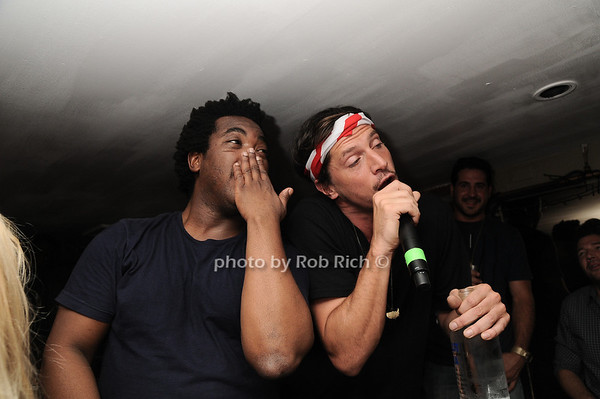 """DJ Reach, Simon Rex , aka """"Dirty Nasty""""<br /> photo by Rob Rich © 2010 robwayne1@aol.com 516-676-3939"""