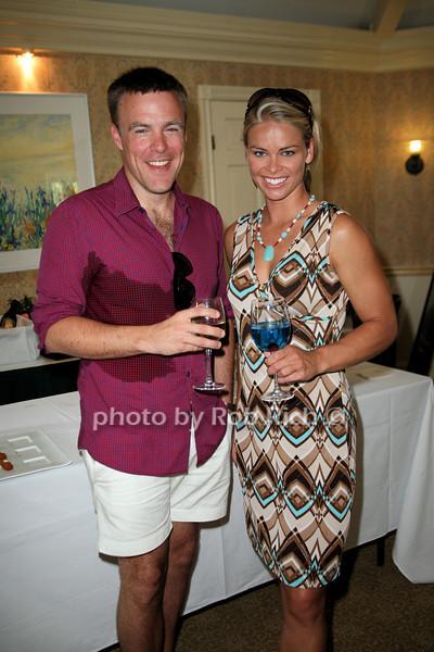 Mark Ellwood , Ramona Bruland<br /> photo by Jakes for Rob Rich © 2010 robwayne1@aol.com 516-676-3939