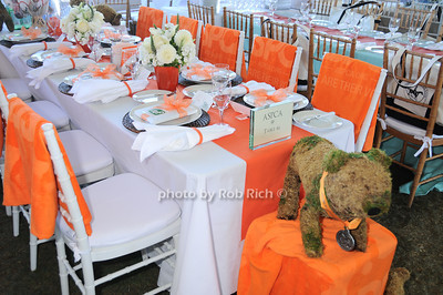 ASPCA table photo by Rob Rich © 2010 robwayne1@aol.com 516-676-3939