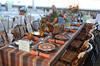 Troffa/LaRosa table<br /> photo by Rob Rich © 2010 robwayne1@aol.com 516-676-3939