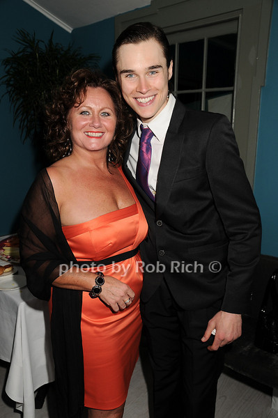 """Angela Underwood, Sam Underwood<br /> at  the after party for """"EQUUS"""" @ the Maidstone in East Hampton on June11, 2010."""