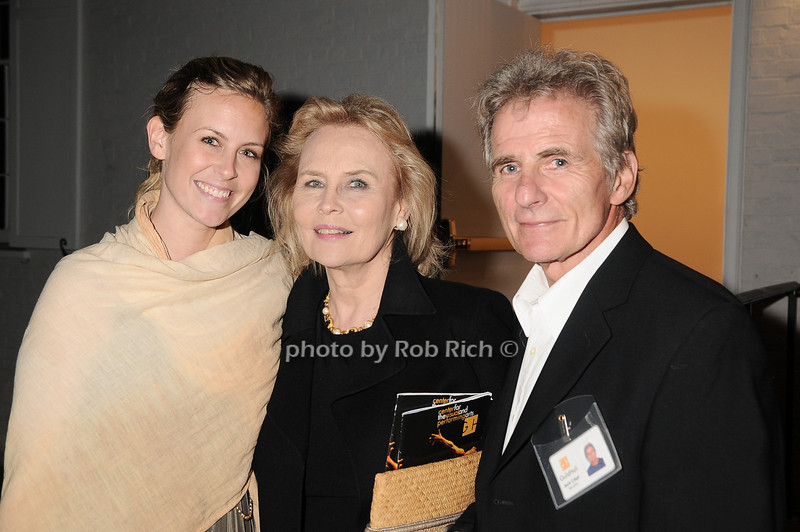 """Catherine Johnson, Cornelia Sharpe Bregman, Jack Crispi<br /> at  the after party for """"EQUUS"""" @Guild Hall  in East Hampton on June11, 2010."""