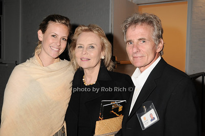 "Catherine Johnson, Cornelia Sharpe Bregman, Jack Crispi at  the after party for ""EQUUS"" @Guild Hall  in East Hampton on June11, 2010."
