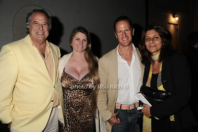 "Stewart Lane, Bonnie Comley, guest, Angela LaGreca at  the after party for ""EQUUS"" @Guild Hall  in East Hampton on June11, 2010."