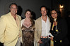 "Stewart Lane, Bonnie Comley, guest, Angela LaGreca<br /> at  the after party for ""EQUUS"" @Guild Hall  in East Hampton on June11, 2010."