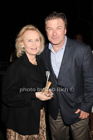 "Cornelia Sharpe Bregman, Alec Baldwin at  the after party for ""EQUUS"" @Guild Hall  in East Hampton on June11, 2010."