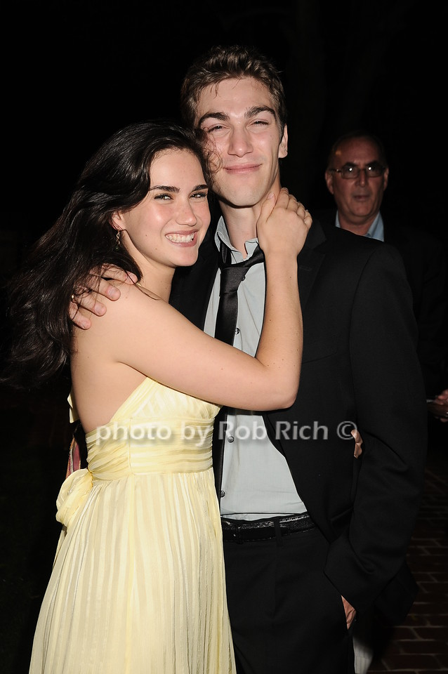 """Georgia Warner, Oliver Singer at  the after party for """"EQUUS"""" @Guild Hall  in East Hampton on June11, 2010."""