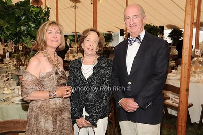 Karen Hughes, Barbara Slifka, Jeff Hughes photo by Rob Rich © 2010 robwayne1@aol.com 516-676-3939