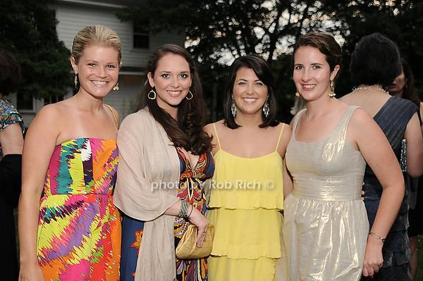 Holly Maloney, Ms.Katz, Abbie Collier, Alexandra Hughes<br /> photo by Rob Rich © 2010 robwayne1@aol.com 516-676-3939
