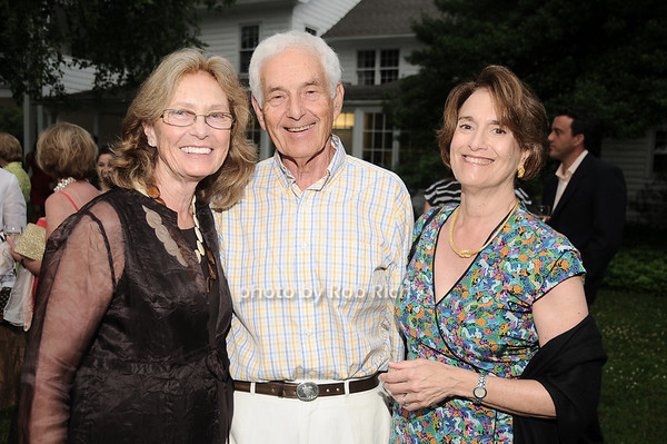 Barbara Zucker, Don Zucker, Lindsey Yates<br /> photo by Rob Rich © 2010 robwayne1@aol.com 516-676-3939