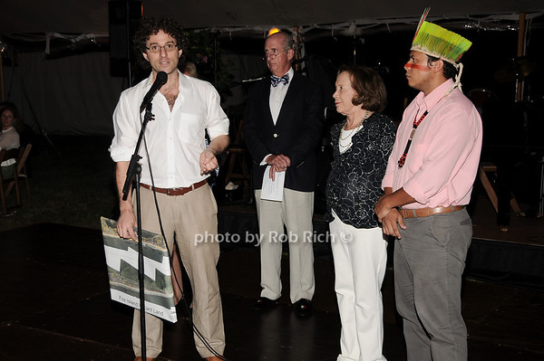 Marcio Szcuman, Jeff Hughes, Barbara Slifka, Klecer Aarizuna<br /> photo by Rob Rich © 2010 robwayne1@aol.com 516-676-3939