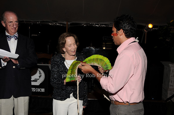 Jeff Hughes, Barbara Slifka, Klecer Aarizuna <br /> photo by Rob Rich © 2010 robwayne1@aol.com 516-676-3939