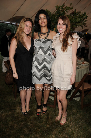 Shirelle Segal, Ammanda Espinao, Stephanie Much<br /> photo by Rob Rich © 2010 robwayne1@aol.com 516-676-3939