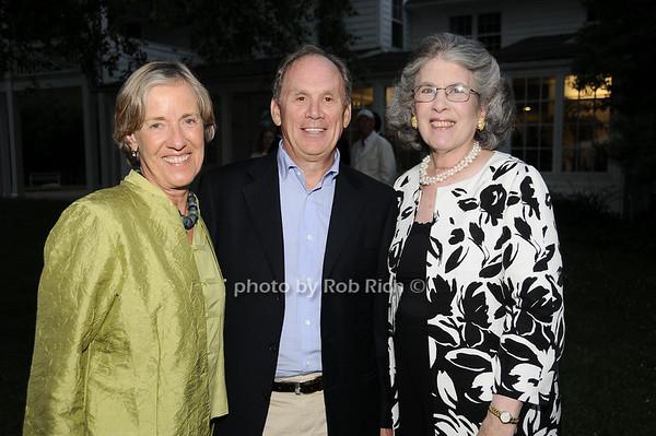 Tina Rabver-Meltesen, Chris Meltesen, Ellen Marcus<br /> photo by Rob Rich © 2010 robwayne1@aol.com 516-676-3939