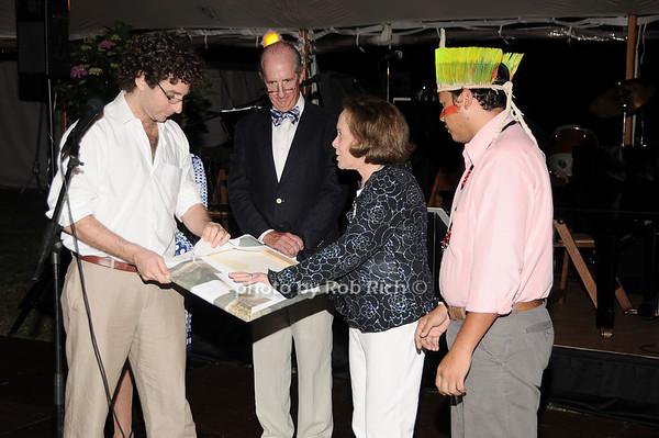 Marcio Szcuman, Jeff Hughes, Barbara Slifka, Klecer Aarizuna<br /> photo by Rob Rich © 2010 robwayne1@aol.com 516-676-3939